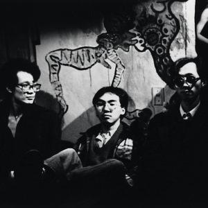 零與聲音解放組織最早三名團員,左起:林其蔚、劉行一、陳家強